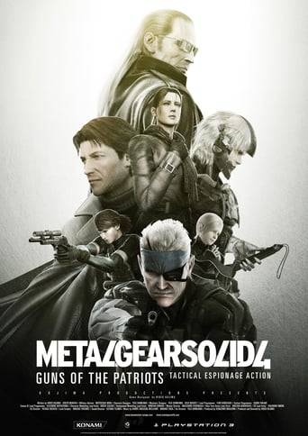 Poster of Metal Gear Solid 4: Guns of the Patriots