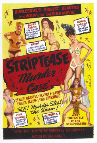 Poster of The Strip Tease Murder Case