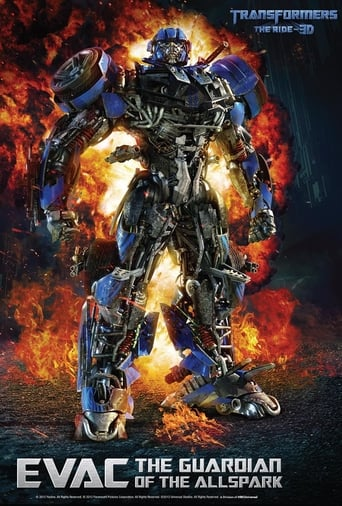 Filmposter von Transformers: The Ride - 3D