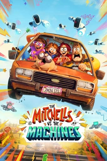 Poster of The Mitchells vs. the Machines