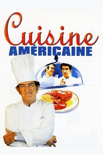 Poster of American cuisine