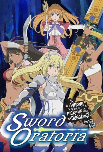 Poster of Is It Wrong to Try to Pick Up Girls in a Dungeon? On the Side: Sword Oratoria