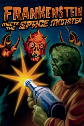 Poster of Frankenstein Meets the Space Monster
