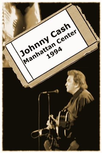 Poster of Johnny Cash - Manhattan Center