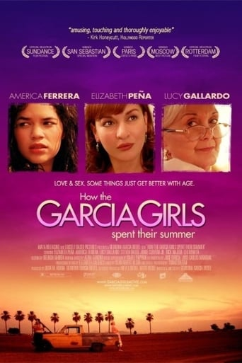 Poster of How the Garcia Girls Spent Their Summer