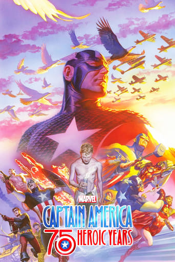 Marvel's Captain America: 75 Heroic Years poster