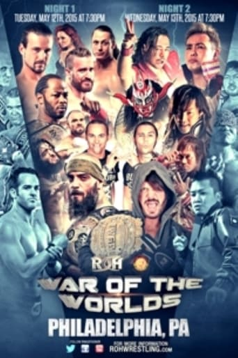 Poster of ROH/NJPW War of the Worlds 2015 - Night 1