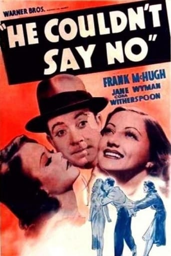 Poster of He Couldn't Say No