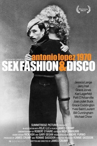 Poster of Antonio Lopez 1970: Sex Fashion & Disco