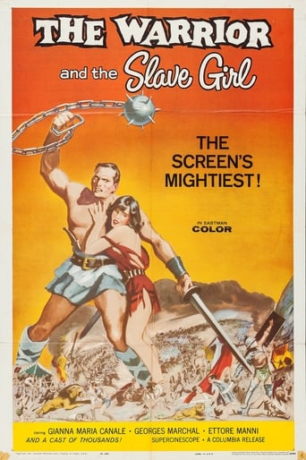 Poster of The Warrior and the Slave Girl