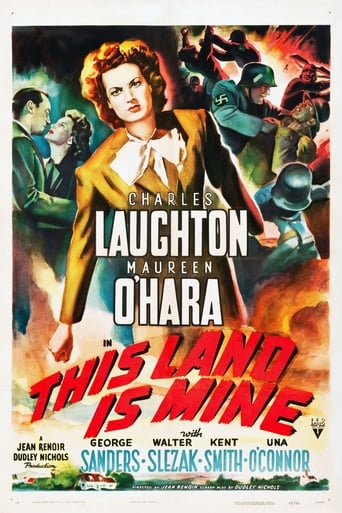 Poster of This Land Is Mine