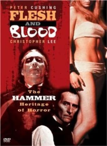 Poster of Flesh and Blood: The Hammer Heritage of Horror