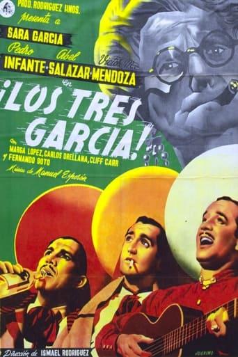 Poster of Los tres García
