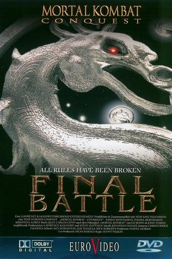 Poster of Mortal Kombat: Final battle
