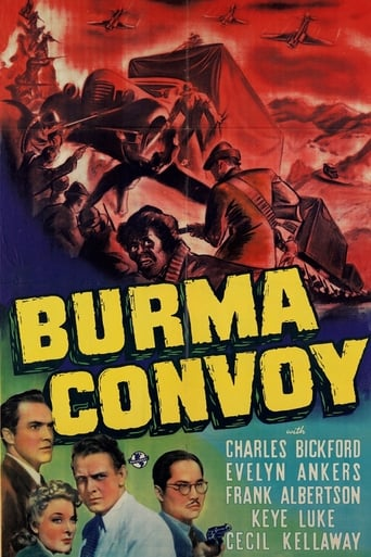 Poster of Burma Convoy