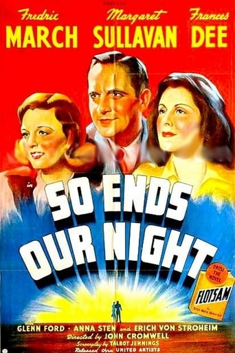 Poster of So Ends Our Night