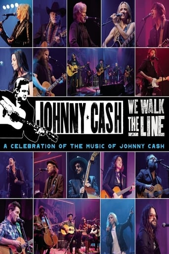 Poster of We Walk The Line: A Celebration of the Music of Johnny Cash