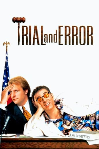 Poster of Trial and Error