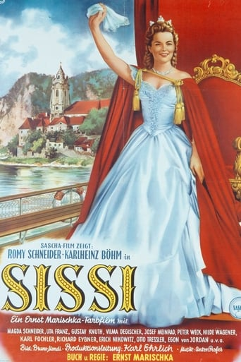 Poster of Sissi, mladá císařovna