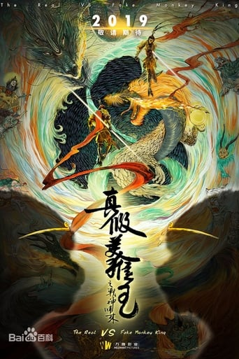 Poster of The Return of the True and False Monkey King