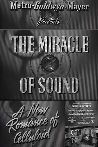 Poster of A New Romance of Celluloid: The Miracle of Sound