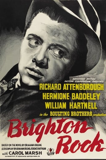 Poster of Brighton Rock