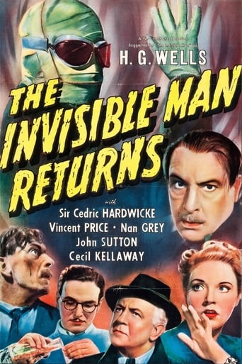 Poster of The Invisible Man Returns