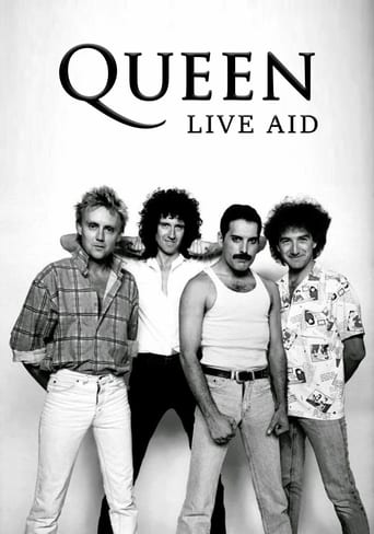 Poster of Queen - Live Aid