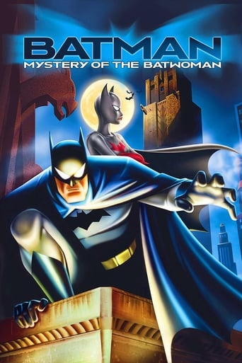 Poster of Batman: Mystery of the Batwoman
