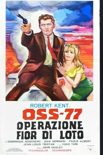 Poster of OSS 77 - Operazione fior di loto