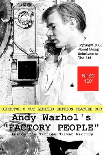 Poster of Andy Warhol's Factory People... Inside the Sixties Silver Factory