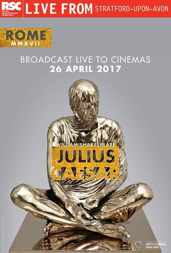 RSC Live: Julius Caesar poster