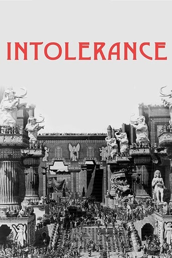 Poster of Intolerance: Love's Struggle Throughout the Ages