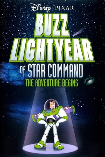 Poster of Buzz Lightyear of Star Command: The Adventure Begins