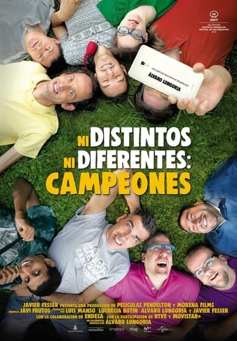 Poster of Ni distintos ni diferentes: Campeones