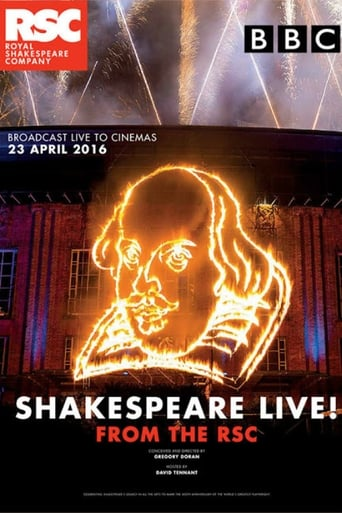 Poster of Shakespeare Live!