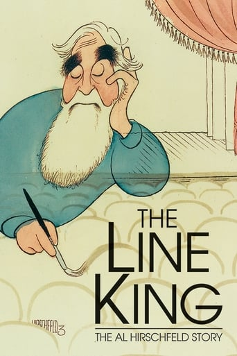 Poster of The Line King: The Al Hirschfeld Story
