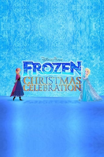 Poster of Disney Parks Frozen Christmas Celebration
