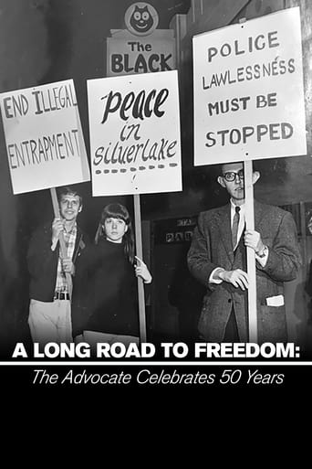 Poster of The Advocate Celebrates 50 Years: A Long Road to Freedom