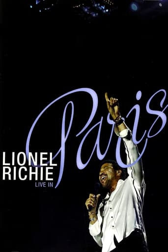 Poster of Lionel Richie: Live in Paris - His Greatest Hits and More