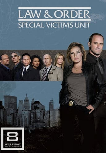 How old was Mariska Hargitay in season 8 of Law & Order: Special Victims Unit