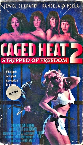 Poster of Caged Heat II: Stripped of Freedom
