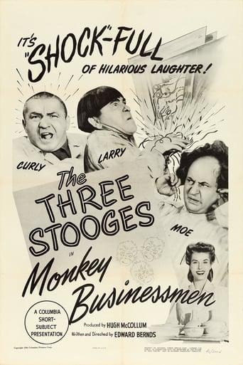 Poster of Monkey Businessmen