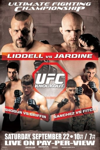 Poster of UFC 76: Knockout