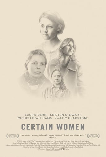 Poster of Certain Women