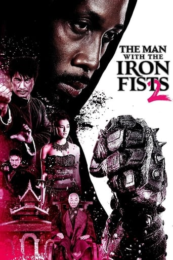 Poster of The Man with the Iron Fists 2