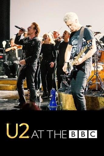 Poster of U2 at The BBC