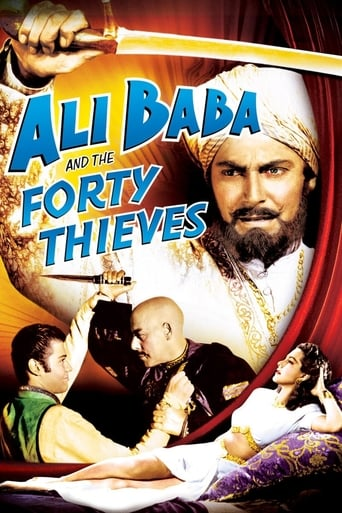 Poster of Ali Baba and the Forty Thieves