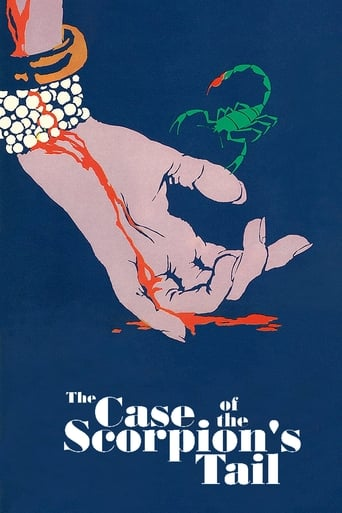 Poster of The Case of the Scorpion's Tail