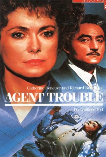 Poster of Agent Trouble